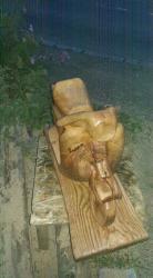 Vespa aus Holz 2016
